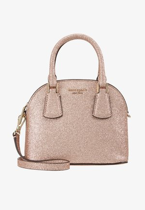 SYLVIA MINI DOME SATCHEL GLITTER - Handväska - pink