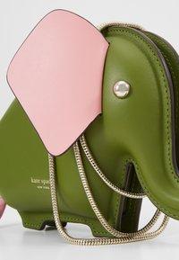 kate spade new york - ELEPHANT CROSSBODY - Umhängetasche - green - 6
