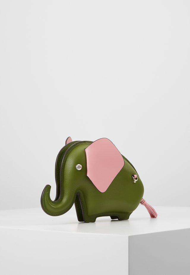 ELEPHANT CROSSBODY - Olkalaukku - green