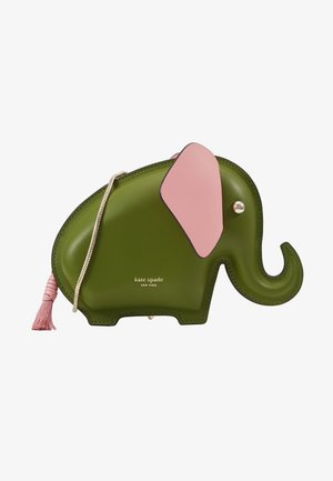 ELEPHANT CROSSBODY - Across body bag - green