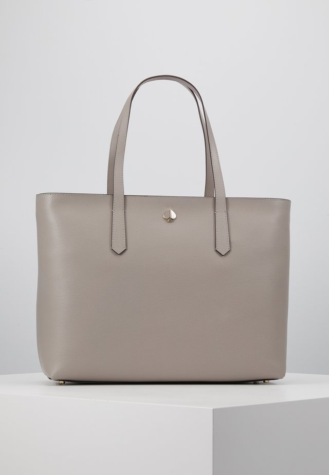 MOLLY ZIP TOP - Shopping Bag - true taupe