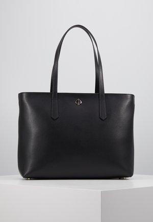 MOLLY ZIP TOP - Tote bag - black