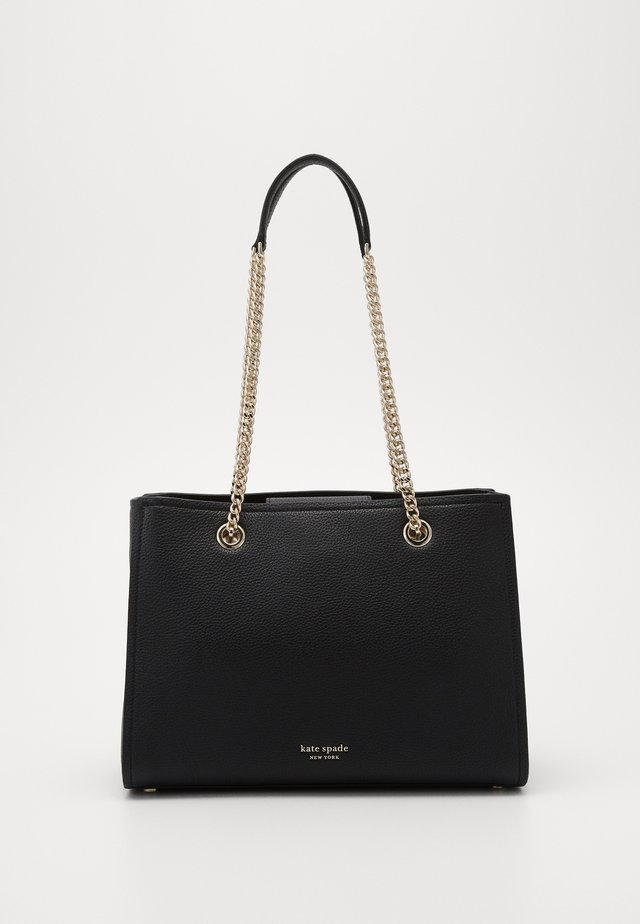 AMELIA CHAIN LARGE TOTE - Handbag - black