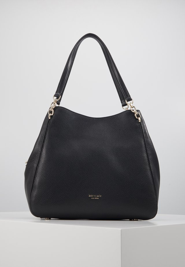 HAILEY LARGE SHOULDER BAG - Handväska - black