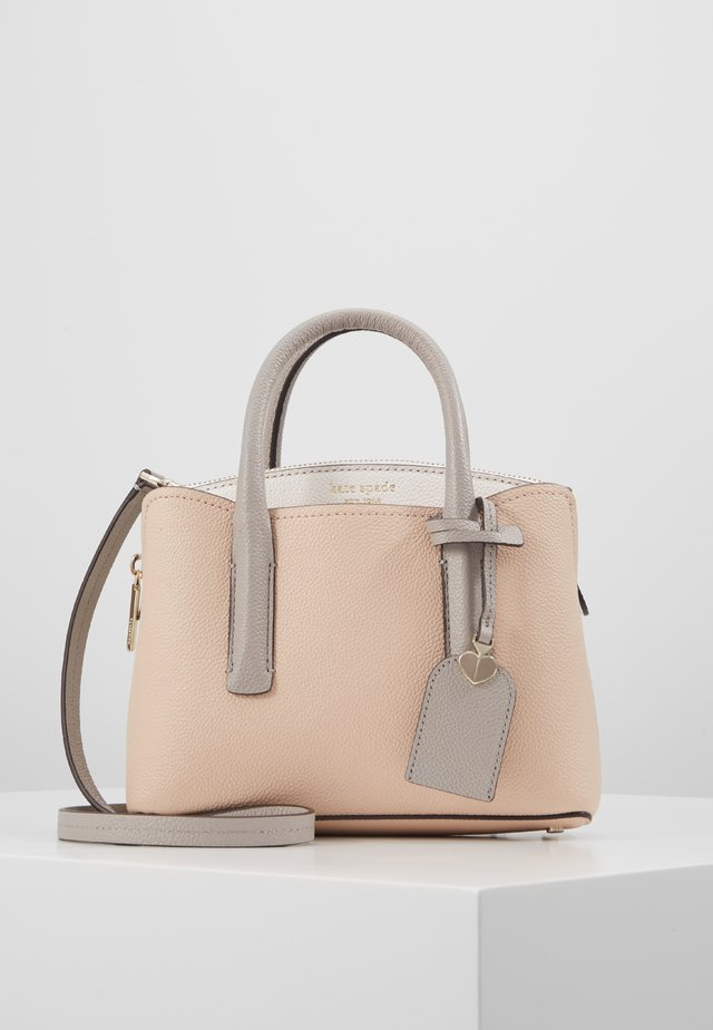 MINI SATCHEL MARGAUX - Handväska - blush multi