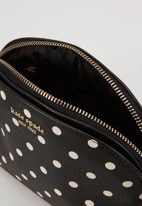 kate spade new york - SPENCER CABANA DOT SMALL DOME CROSSBODY - Across body bag - black - 1