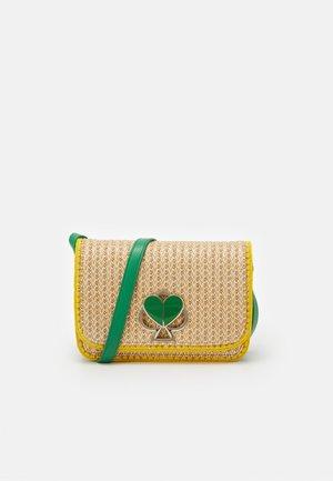 NICOLA MEDIUM SHOULDER BAG - Across body bag - green multi