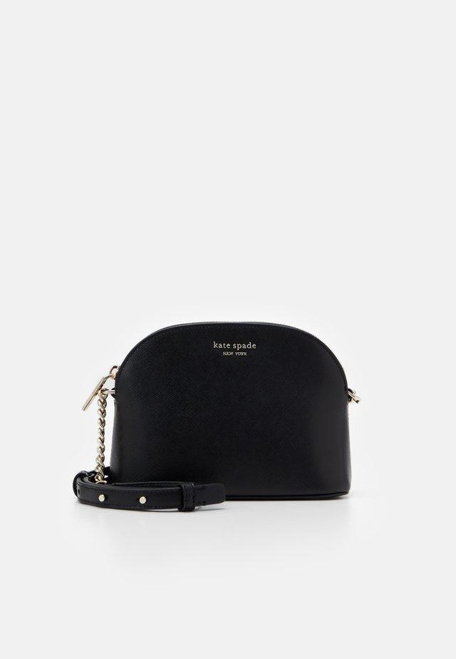 SPENCER SMALL DOME CROSSBODY - Across body bag - black