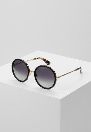 LAMONICA - Sluneční brýle - black/gold-coloured