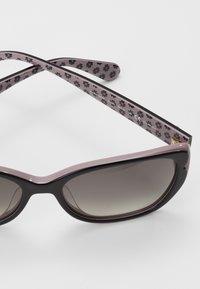 kate spade new york - AUGUSTA - Lunettes de soleil - black/pink - 2