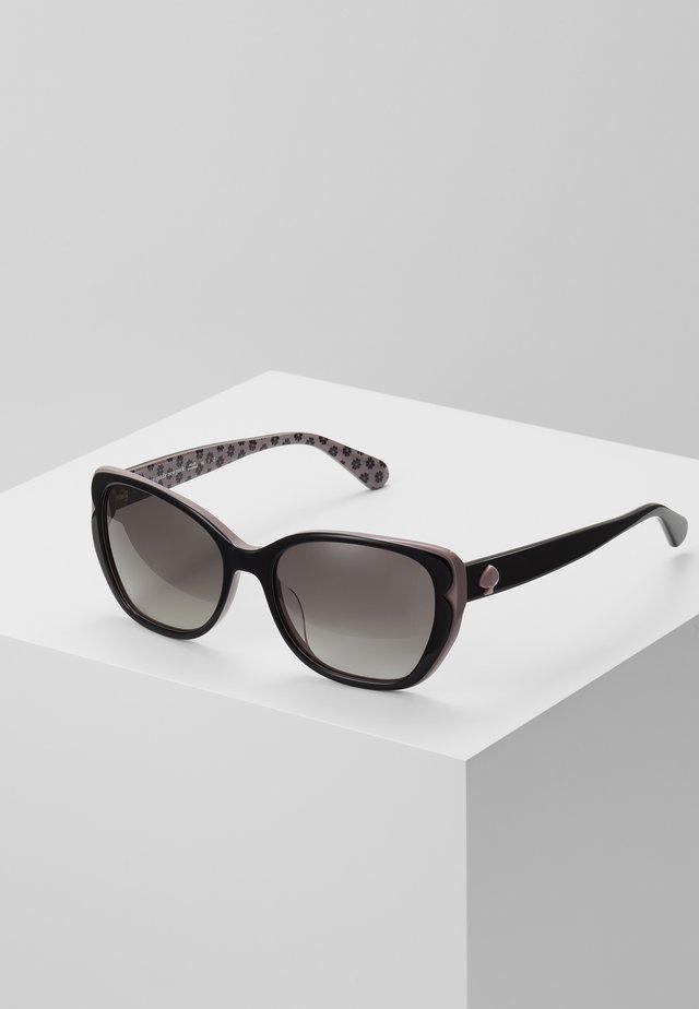 AUGUSTA - Okulary przeciwsłoneczne - black/pink