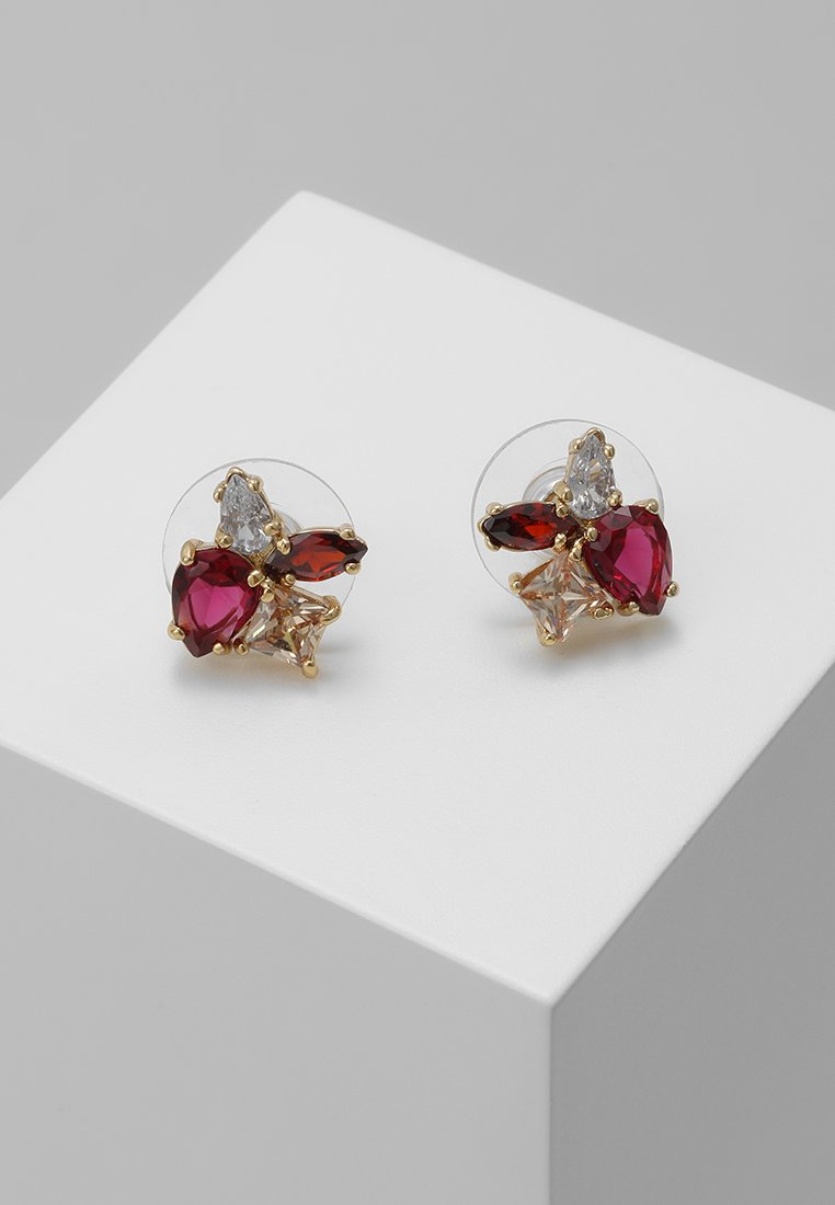 kate spade new york - FLYING COLORS CLUSTER STUDS - Boucles d'oreilles - red multi