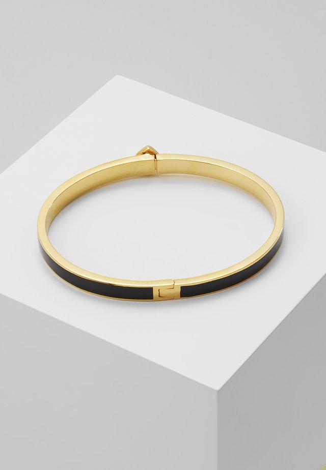 HERITAGE THIN BANGLE - Armband - black