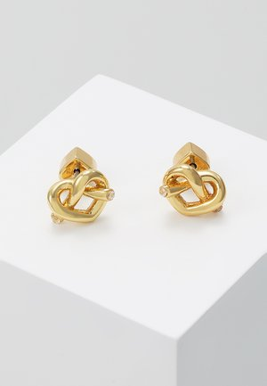 LOVES ME KNOT LOVES ME KNOT STUDS - Earrings - gold-coloured