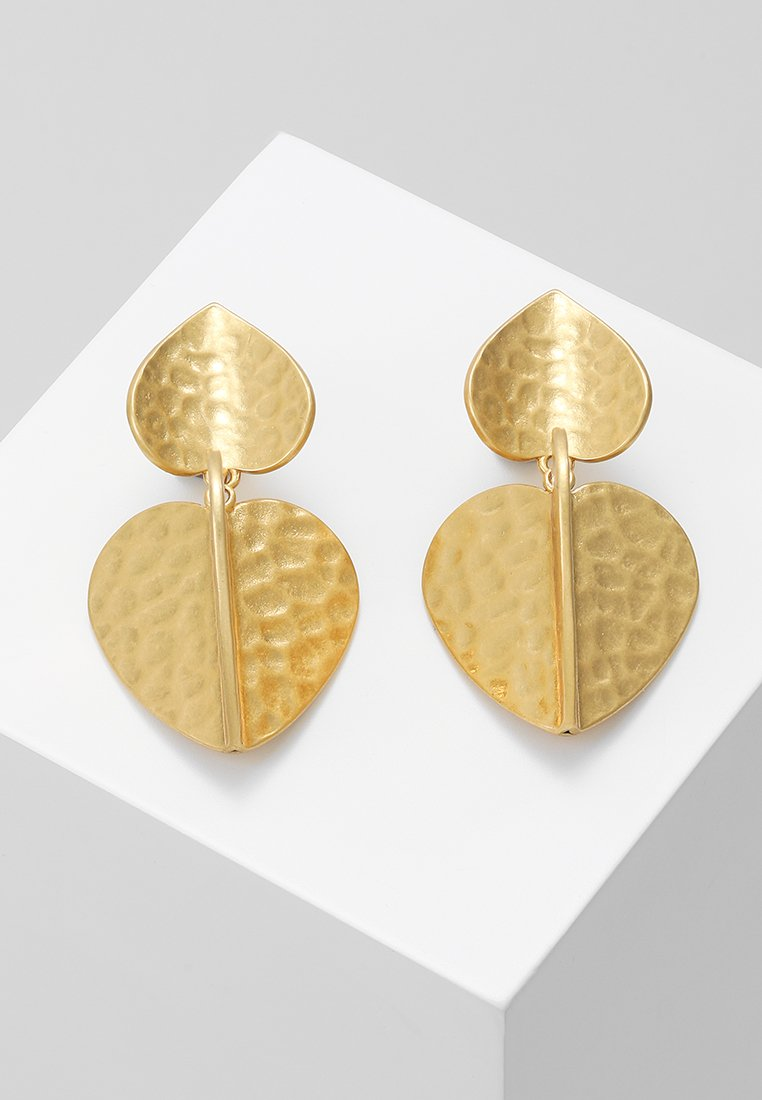 kate spade new york - PETAL DROP EARRINGS - Øreringe - worn gold-coloured