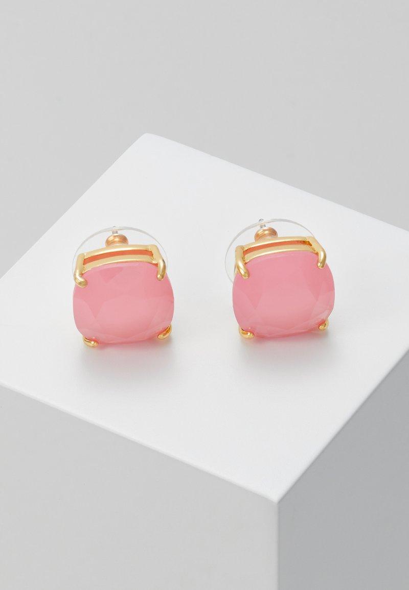 kate spade new york - EARRINGS SMALL SQUARE STUDS - Earrings - meadow pink