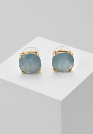 EARRINGS SMALL SQUARE STUDS - Oorbellen - serene blue