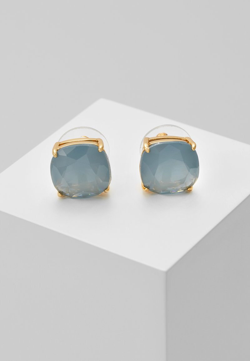 kate spade new york - EARRINGS SMALL SQUARE STUDS - Pendientes - serene blue