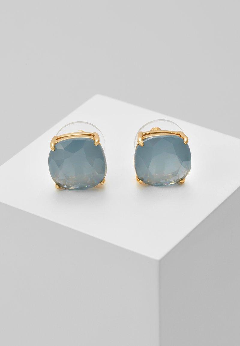 kate spade new york - EARRINGS SMALL SQUARE STUDS - Ohrringe - serene blue