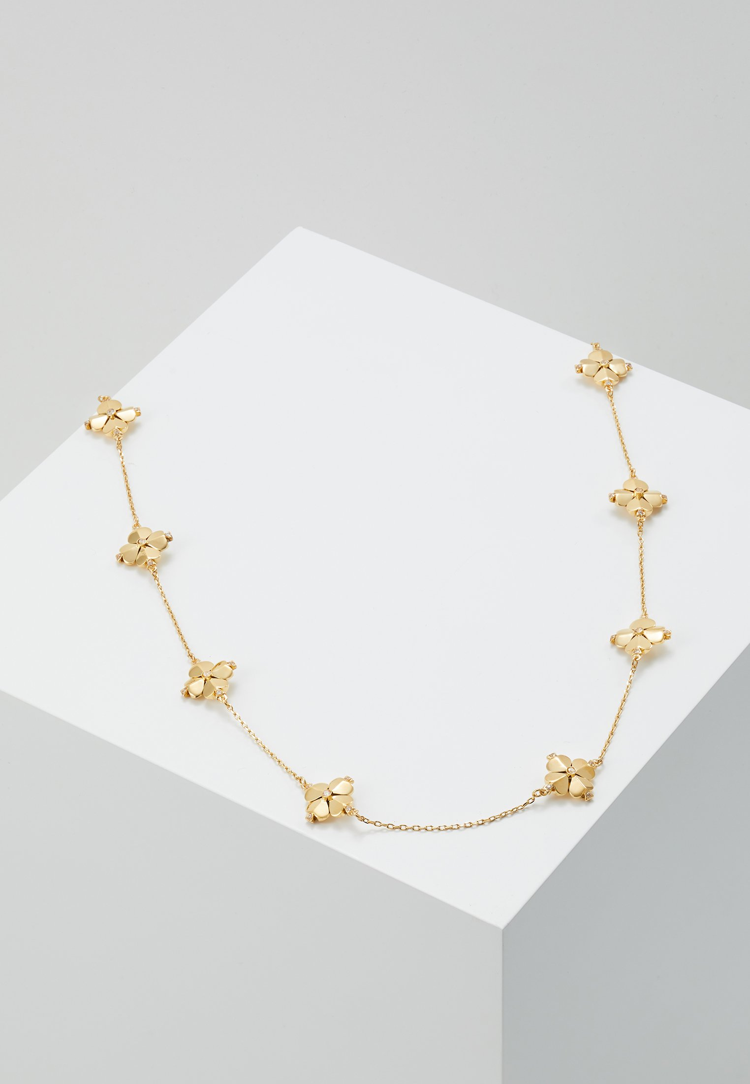 gold New FlowerCollier Logo coloured Kate Clear Legacy Spade York sdrthQ