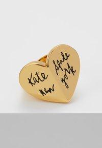 kate spade new york - HERITAGE HEART - Ring - black - 4