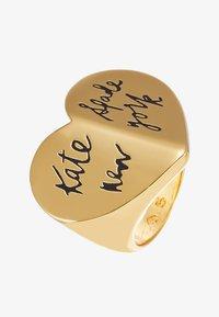 kate spade new york - HERITAGE HEART - Ring - black - 3