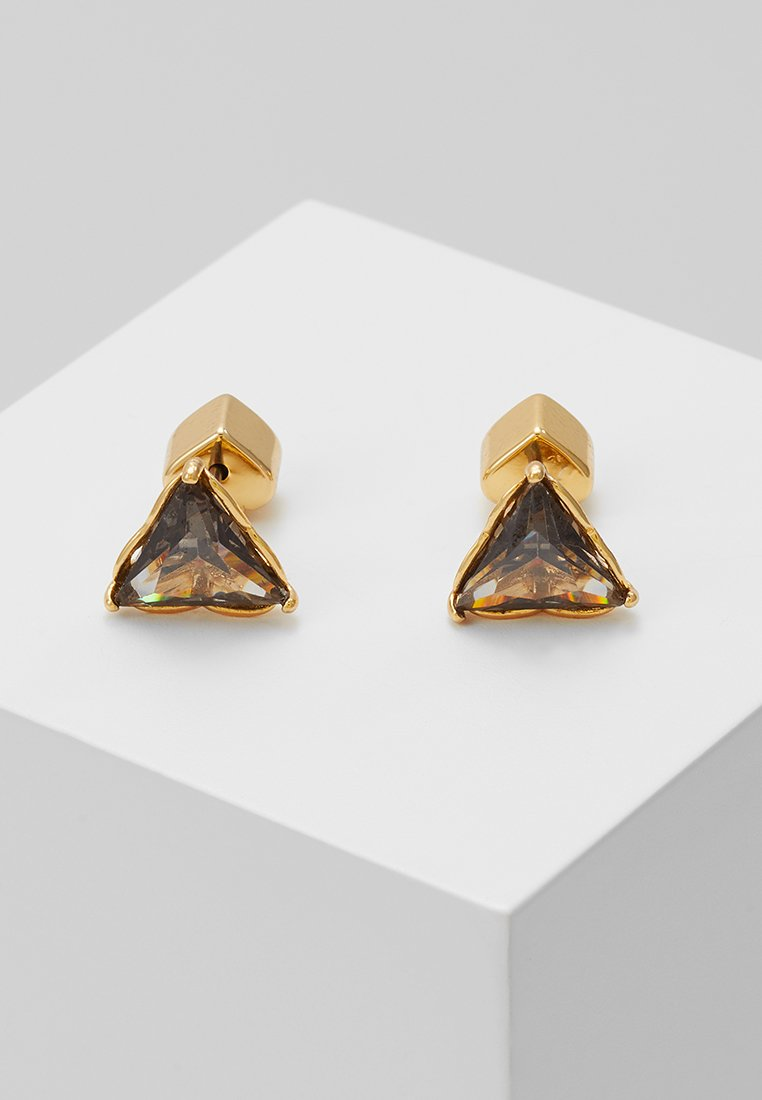 kate spade new york - THAT SPARKLE TRIANGLE EARRINGS - Pendientes - black