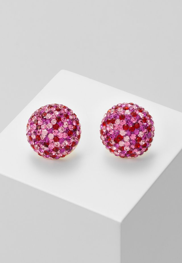 STUDS - Earrings - pink multi