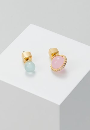 ASYMMETRICAL STUDS SET - Earrings - pink/multi-coloured