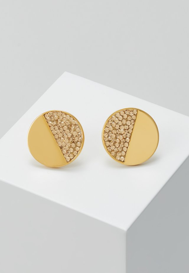 PAVE STUDS - Kolczyki - light colorado