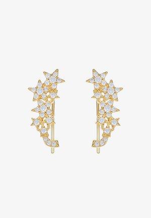EAR CRAWLERS - Kolczyki - clear/gold-coloured