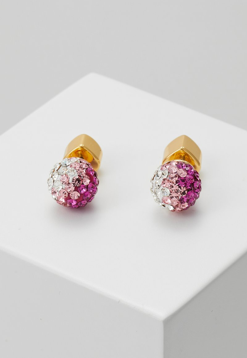 kate spade new york - BRILLIANT STATEMENTS MINI STUDS - Oorbellen - pink/multi