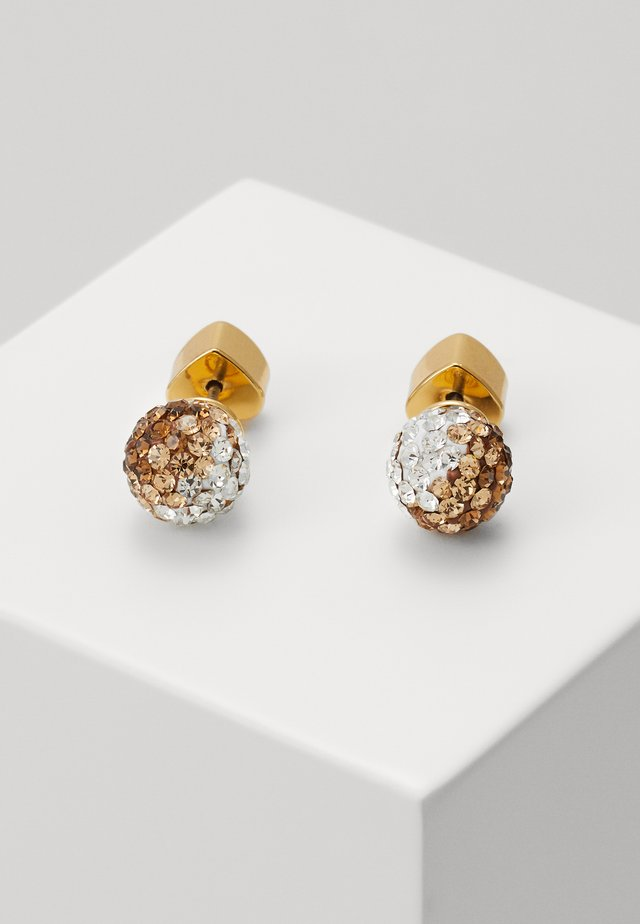 BRILLIANT STATEMENTS MINI STUDS - Kolczyki - neutral/multi