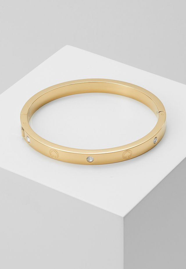 INFINITE SPADE ENGRAVED SPADE BANGLE - Rannekoru - gold-coloured