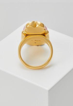 LOVE BUGS BEETLE STATEMENT - Ring - blush