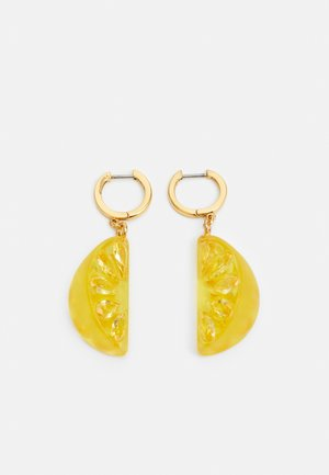 TUTTI FRUITY LEMON DROP EARRINGS - Earrings - yellow