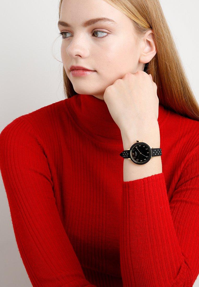 kate spade new york - PARK ROW - Horloge - schwarz/weiss