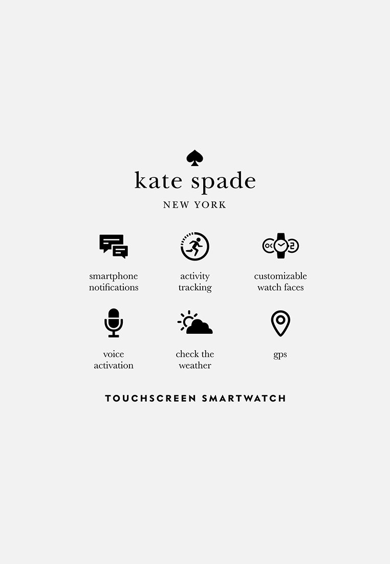 kate spade new york RAVEN - Smartklokke - white