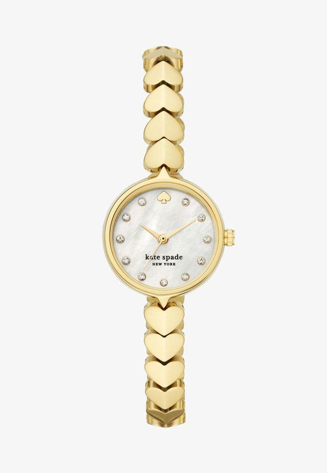 HOLLIS - Horloge - gold-coloured