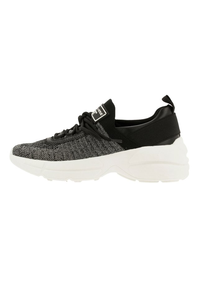 GLEASON - Sneakers laag - black/silver