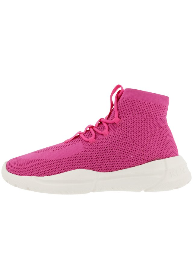 NIVINITY - High-top trainers - neon pink