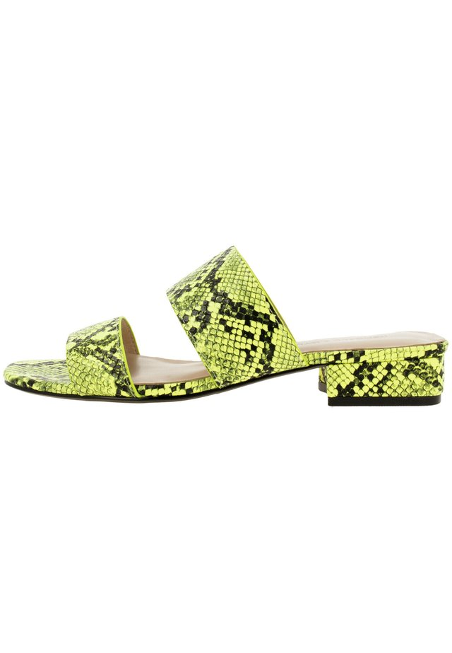 KAHLIE  - Mules - neon lime