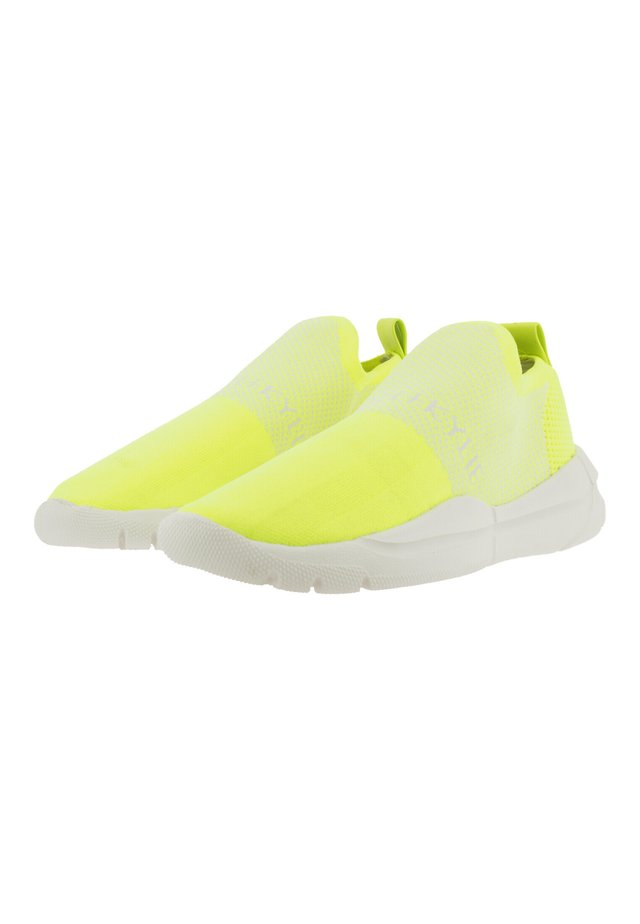NORIEGA - Baskets basses - neon lime-white