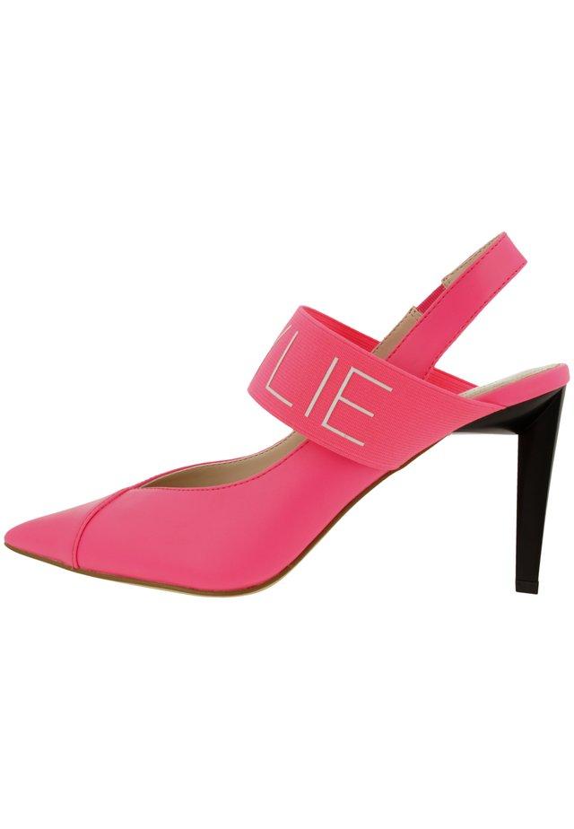 ZIAN - Sandales à talons hauts - neon pink