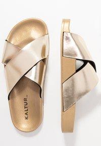 Kaltur - Pantofle - gold - 3