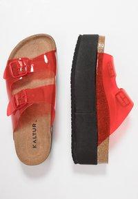 Kaltur - Heeled mules - red - 3