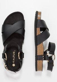Kaltur - Sandaler - black - 3