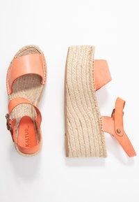 Kaltur - High heeled sandals - orange - 3