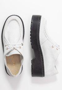 Kaltur - Šněrovací boty - white - 3