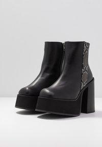 Kaltur - Ankelboots med høye hæler - black - 4